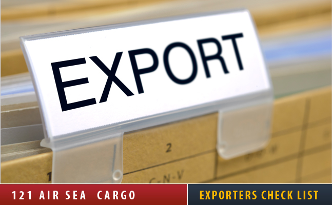 Exporters Check List